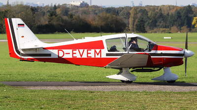 D-EVEM - Robin DR400/140B Major - Luftsportverein Velbert