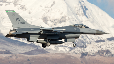 88-0460 - Lockheed Martin F-16CG Fighting Falcon - United States - US Air Force (USAF)