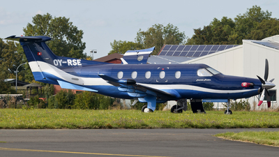 OY-RSE - Pilatus PC-12/47E - Fournais Aviation