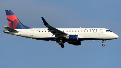 A picture of N291SY - Embraer E175LL - Delta Air Lines - © Stabinski y Geniz MEX Spotters