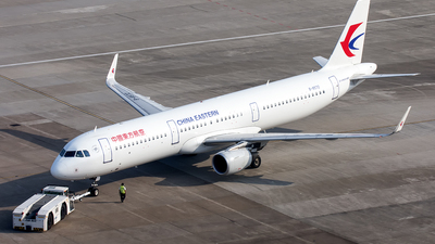 B-8572 - Airbus A321-211 - China Eastern Airlines