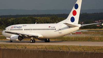 YU-AOU - Boeing 737-322 - Jat Airways