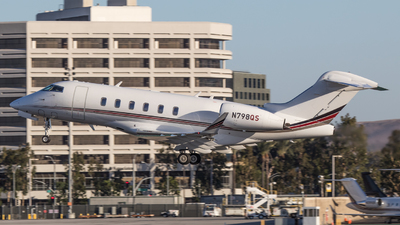 N798QS - Bombardier BD-100-1A10 Challenger 300 - NetJets Aviation