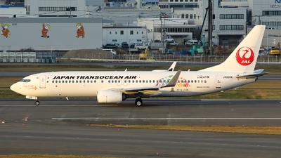 A picture of JA03RK - Boeing 7378Q3 - Japan Transocean Air - © kouyagi