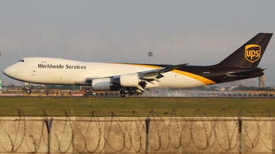A picture of N614UP - Boeing 7478F - UPS - © CHA CHA