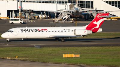 VH-YQU - Boeing 717-2BL - QantasLink (National Jet Systems)