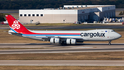 LX-VCB - Boeing 747-8R7F - Cargolux Airlines International
