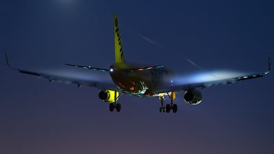 N614NK - Airbus A320-232 - Spirit Airlines