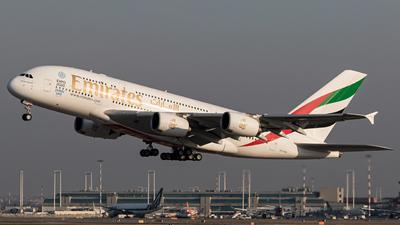 A6-EDU - Airbus A380-861 - Emirates