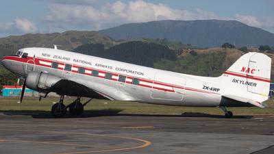ZK-AWP - Douglas DC-3C - Air Chathams