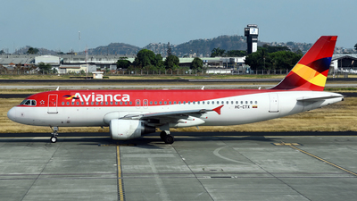 A picture of HCCTX - Airbus A320214 - Avianca - © Mehrad Watson - AirTeamImages