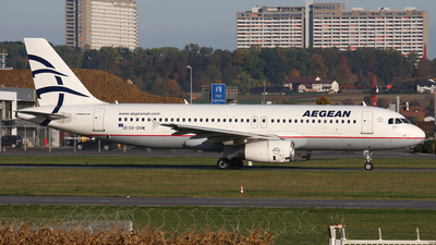 A picture of SXDVM - Airbus A320232 - Aegean Airlines - © Frank Specker