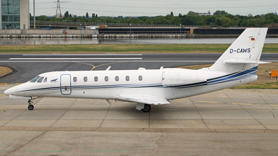 D-CAWS - Cessna 680 Citation Sovereign - Aerowest