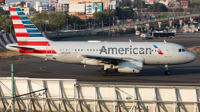 A picture of N833AW - Airbus A319132 - American Airlines - © Felipe García