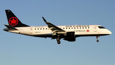 A picture of CFFYG - Embraer E175SU - Air Canada - © Daniel Lapierre Forget