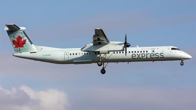 A picture of CGGNZ - De Havilland Canada Dash 8400 - Air Canada - © Edmundo Iturralde