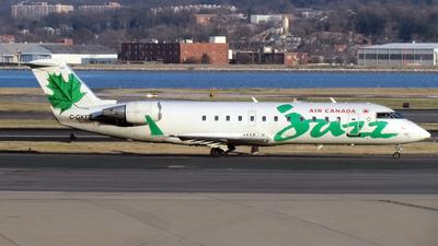 C-GKEZ - Bombardier CRJ-200LR - Air Canada Jazz