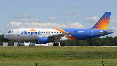 A picture of N233NV - Airbus A320214 - Allegiant Air - © DJ Reed - OPShots Photo Team