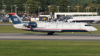N262PS - Bombardier CRJ-200ER - US Airways Express (PSA Airlines)