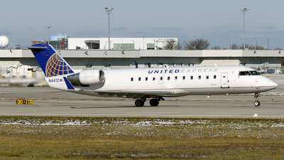 A picture of N441ZW - Mitsubishi CRJ200LR - United Airlines - © DJ Reed - OPShots Photo Team
