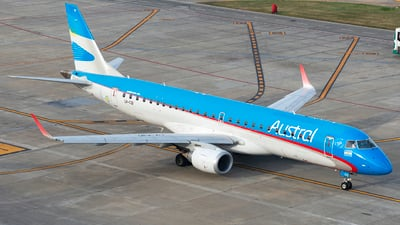 LV-CID - Embraer 190-100IGW - Austral Líneas Aéreas