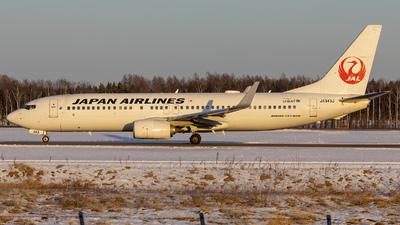 JA343J - Boeing 737-846 - Japan Airlines (JAL)