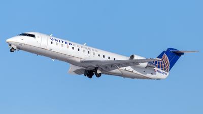 A picture of N466SW - Mitsubishi CRJ200LR - United Airlines - © HA-KLS