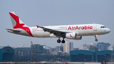 A6-AUA - Airbus A320-214 - Air Arabia Abu Dhabi