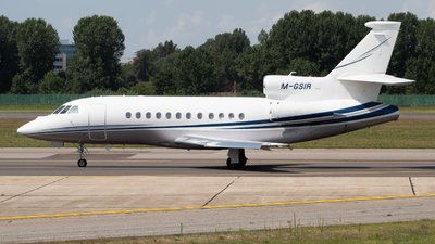 M-GSIR - Dassault Falcon 900DX - Private