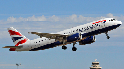 G-EUYO - Airbus A320-232 - British Airways
