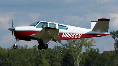 A picture of N8666V - Beech S35 Bonanza - [D7832] - © Kevin Porter
