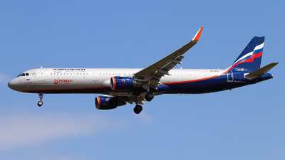 A picture of VQBTU - Airbus A321211 - Aeroflot - © Vitaly Revyakin