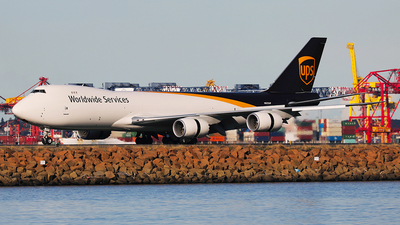 A picture of N623UP - Boeing 7478F - UPS - © Mark H