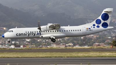 A picture of ECMUJ - ATR 72500 - CanaryFly - © Manu Aldana