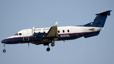 A picture of N255GL - Beech 1900D - Great Lakes Aviation - © Jeremy D. Dando