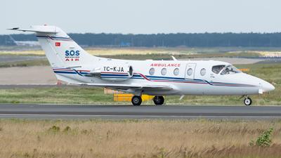 TC-KJA - Beechcraft 400A Beechjet - Turkey - Ministry of Health