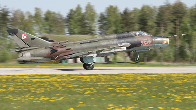 3612 - Sukhoi Su-22M4 Fitter K - Poland - Air Force