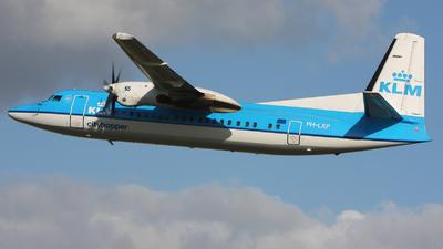 PH-LXP - Fokker 50 - KLM Cityhopper