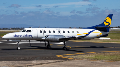VH-SRU - Fairchild SA227-AC Metro III - Sharp Airlines
