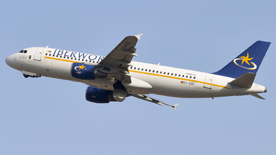 EC-GZE - Airbus A320-214 - Iberworld Airlines