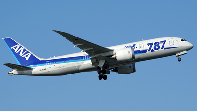 JA804A - Boeing 787-8 Dreamliner - All Nippon Airways (ANA)