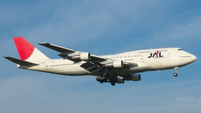 JA8185 - Boeing 747-346 - Japan Airlines (JAL)