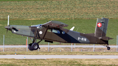 V-616 - Pilatus PC-6/B2-H2 Turbo Porter - Switzerland - Air Force