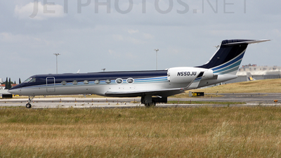 N550JU - Gulfstream G550 - Private