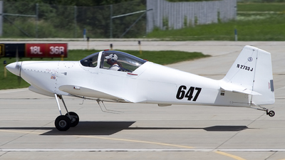 N2733J - Vans RV-6 - Private