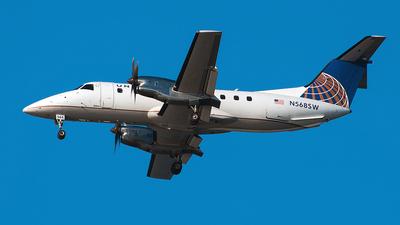 A picture of N568SW - Embraer EMB120ER Brasilia - [120.343] - © Bruce Leibowitz