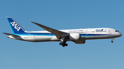 JA837A - Boeing 787-9 Dreamliner - All Nippon Airways (Air Japan)