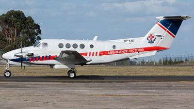 VH-VAE - Beechcraft 200C Super King Air - Air Ambulance Victoria (RFDS)