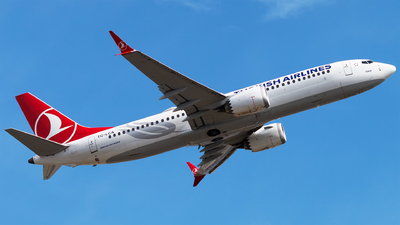 A picture of TCLCA - Boeing 737 MAX 8 - Turkish Airlines - © Furkan Borakazi