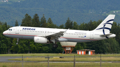 A picture of SXDVH - Airbus A320232 - Aegean Airlines - © Davor - Sierra5.net